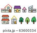 家・建物アイコン 63600334