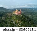 Pena Palace at morning in Sintra 63602131