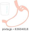 バリウム検査 胃の中 63604818