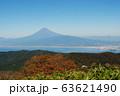 遠くに見える富士山 63621490