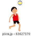 ビーチバレー男子3 63627370