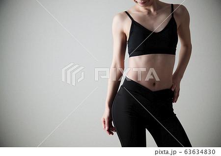 女性 ダイエット フィットネス スポーツ エクササイズ 63634830
