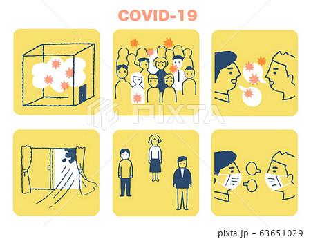 集団感染が起こる3条件 三つの「密」と対策 63651029