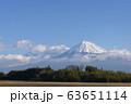 《静岡県》富士市から望む富士山⑳ 63651114