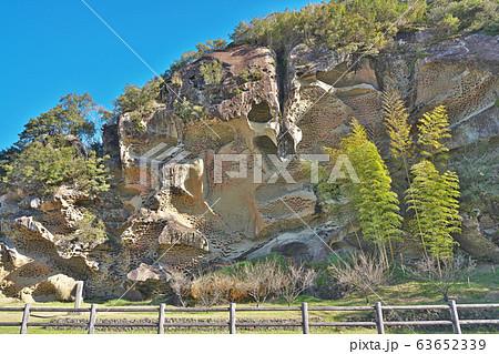 【虫喰岩】 和歌山県東牟婁郡古座川町池野山 63652339