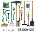 Tools and equipment of gardening and agriculture 63660425