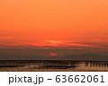 柳川市 風景 有明海夕景 63662061