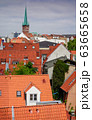red Luebeck, View of the old city. 63665658