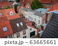 red Luebeck, View of the old city. 63665661