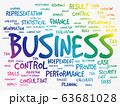 Business word cloud concept 63681028