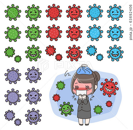新型コロナウイルス(COVID-19)イメージ 63692406