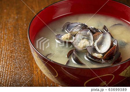 しじみの味噌汁 63699389