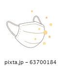 マスクと花粉 63700184