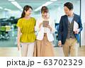 カジュアルビジネス オフィス ビジネスイメージ 63702329