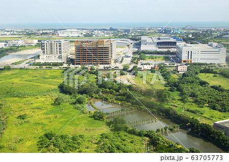 台湾桃園国際空港近くの風景 63705773