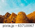 Jaisalmer Fort, historic architecture in India 63710067