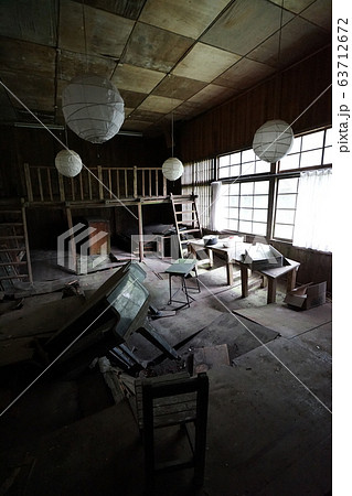 廃墟 長野県塩尻市 贄川小学校桑崎冬季分校 廃校 63712672