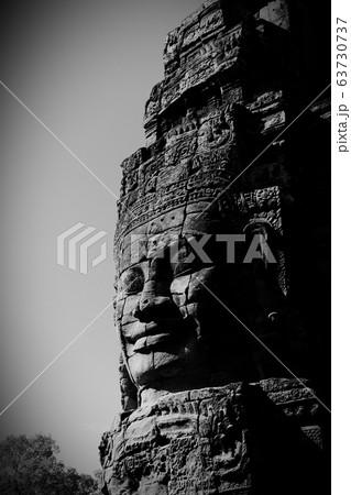 カンボジア アンコール・トムのバイヨン寺院 63730737