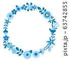 花のリース 花の環 63742855