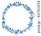 花のリース 花の環 63761938