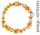 花のリース 花の環 63761941