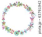 花のリース 花の環 63761942