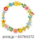 花のリース 花の環 63764372
