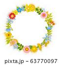 花のリース 花の環 63770097