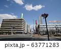 札幌 国道12号 街風景(国道5号創成川通交差点 創成川 北1条橋付近) 63771283
