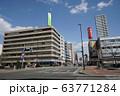 札幌 国道12号 街風景(北1条西1丁目 創成川 北1条橋付近) 63771284