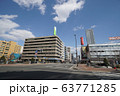 札幌 国道12号 街風景(国道5号創成川通交差点 北1条橋付近) 63771285