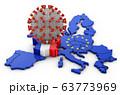 Coronavirus France map 63773969