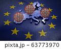 Coronavirus European Union map 63773970