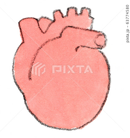 心臓のイメージイラスト 63774580