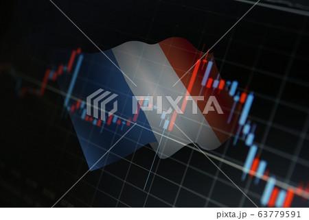 金融取引のイメージ 63779591