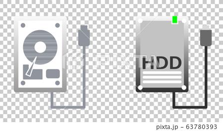 硬盤驅動器 illustration 數字動畫 63780393