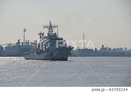 名古屋港に停泊中の海上保安庁巡視船みずほ 63793234