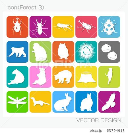 アイコン・森林(Forest 3)Vector Design 63794913