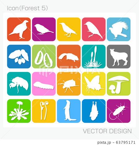 アイコン・森林(Forest 5)Vector Design 63795171