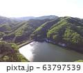 円良田湖(つぶらたこ)〜ドローンで空撮(埼玉県寄居町・美里町) 63797539