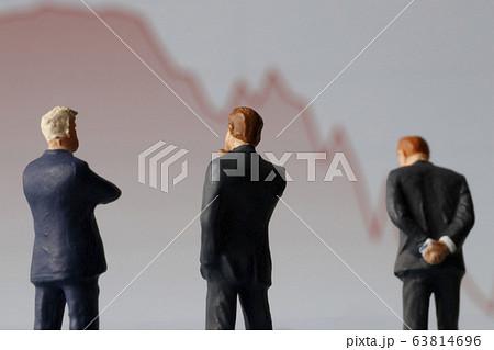 株価暴落 63814696