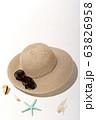 夏のイメージ ビーチ 砂浜 海水浴 ホリデー レジャー 63826958