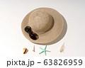 夏のイメージ ビーチ 砂浜 海水浴 ホリデー レジャー 63826959