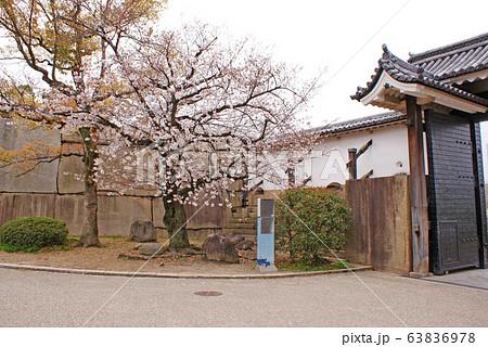 大阪城・桜門 63836978