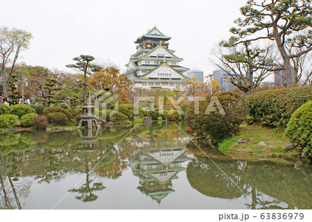 大阪城・日本庭園 63836979