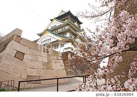 大阪城・山里口出枡形跡 63836984