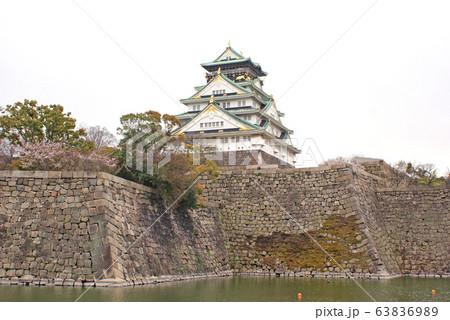 大阪城・内堀 63836989