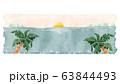 夏の海ロングバナー アイキャッチイメージ 63844493