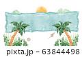 常夏リゾートフレーム/ハワイアンイメージ 63844498