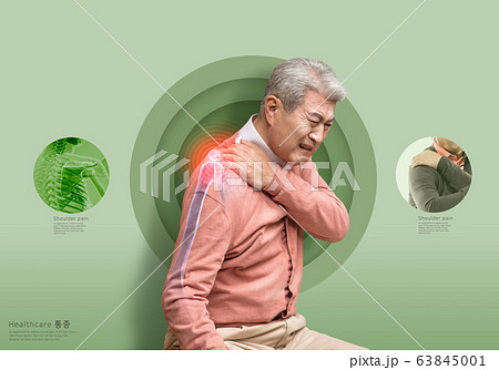 Health problems concept. Pain on human body 005 63845001